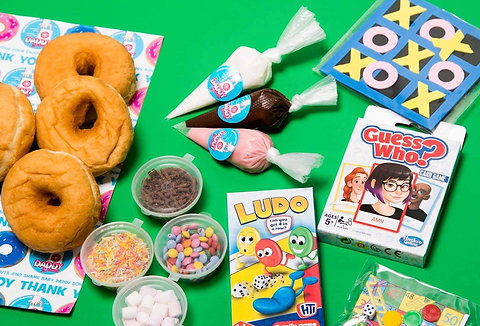 Family FUN Activities  DIY Donut Kit