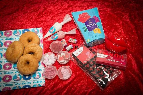 I Love you / Valentines Day Donut DIY Gift Kit