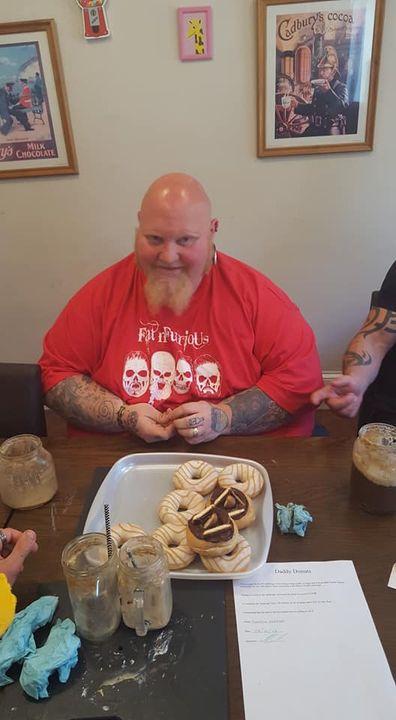Daddy Donuts Donut Challenge Winner MAN v FOOD