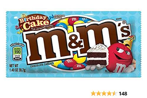 M&M's Birthday Cake