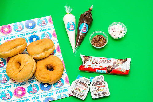 NUTS About Nutella Donut DIY Kit