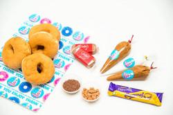 caramel diy donut box 4 donuts caramel a