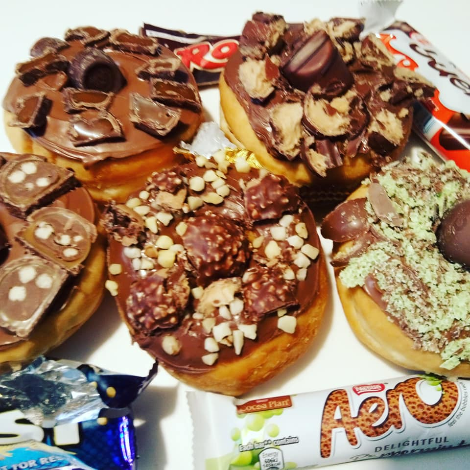assorted mix donuts
