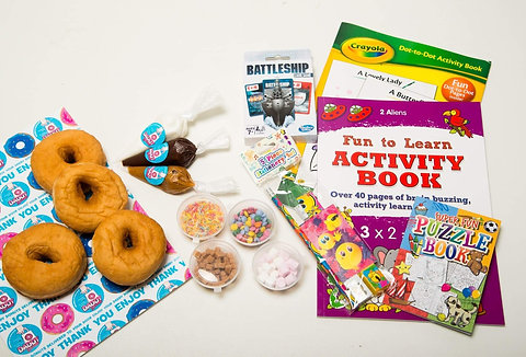 Education and Craft DIY Donut Kit