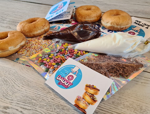 Decorate your own donut box