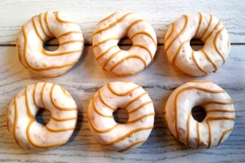 Caramel Lace filled Donut