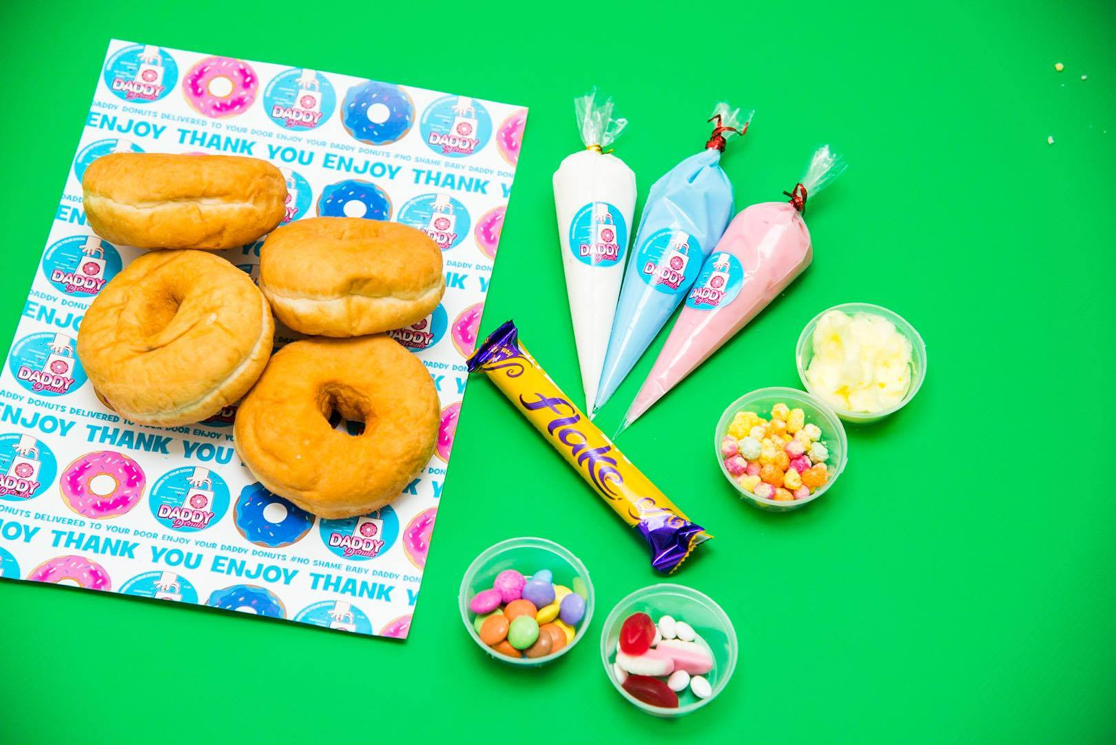 buy doughnuts online at daddy donuts