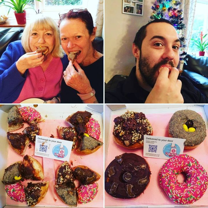 donuts delivered to your home