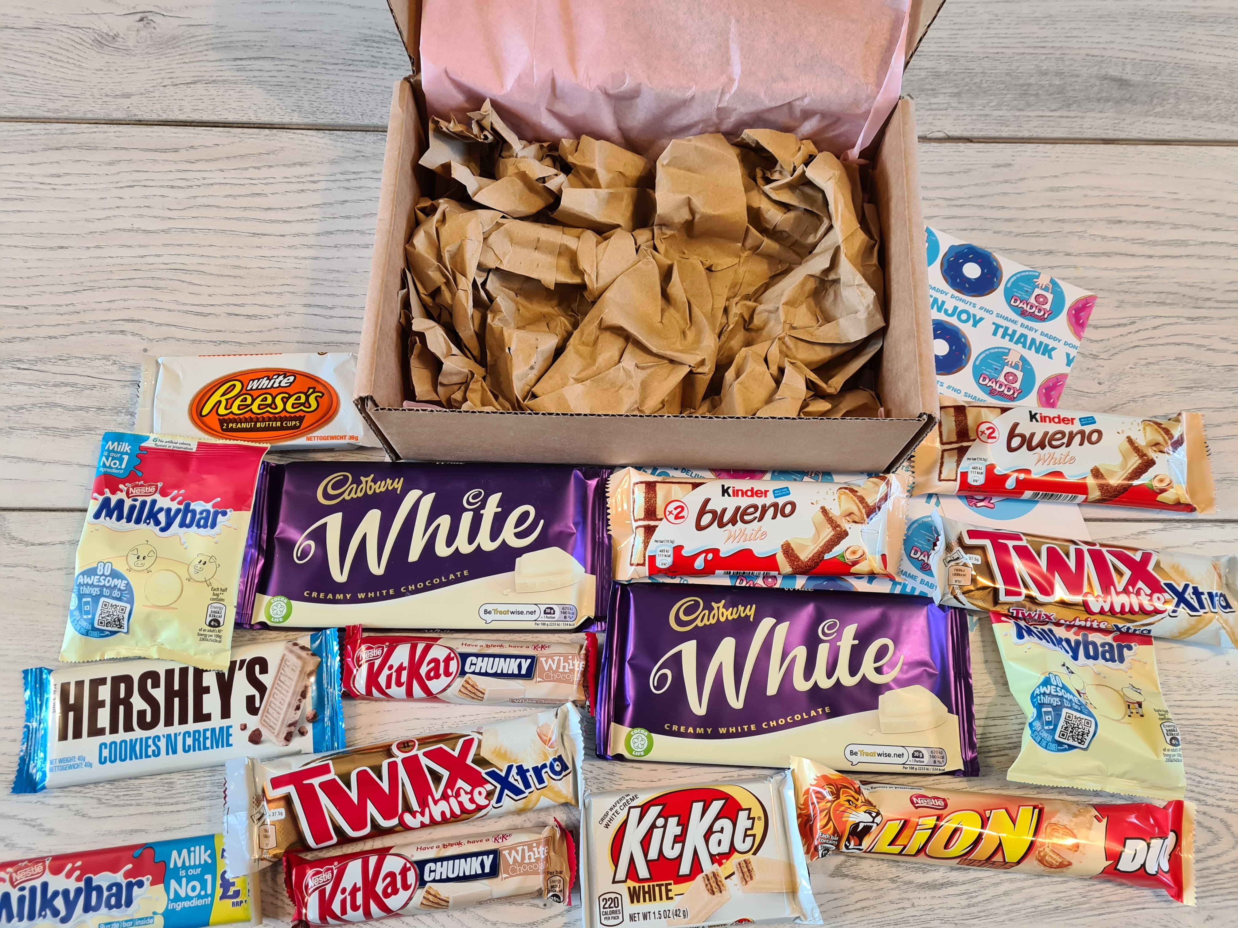 yummy white chocolate