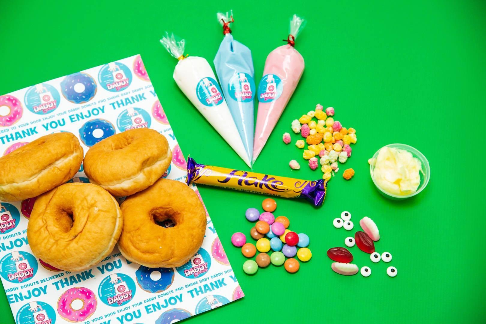 daddy donut box buy doughnuts