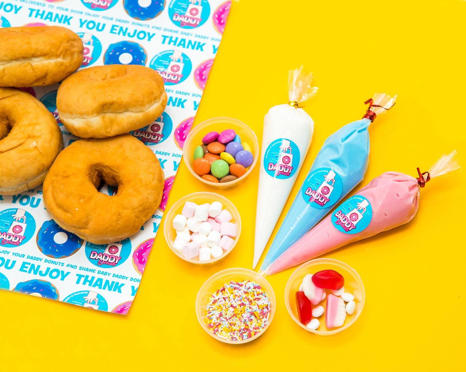 donut doughnuts diy box