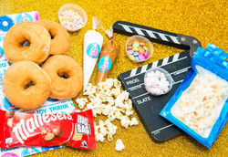 popcorn maltesers diy donut box perfect