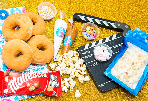 Movie Night Diy Donut Kit NETFLIX TIME
