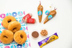 daddy donuts caramel diy donut box deliv