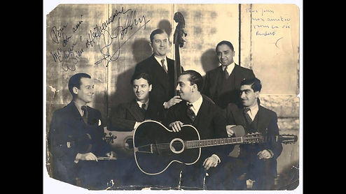 The original Quintette du Hot Club de France