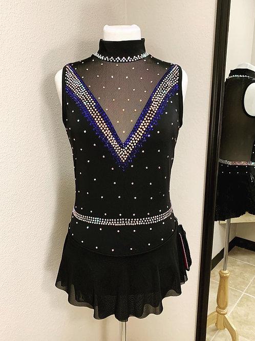 Adult Large- Black Skating Dress!