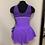 Thumbnail: Adult Small- Purple Beaded Dress
