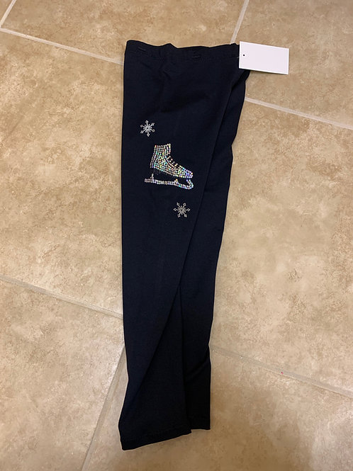 Every Size- Black MicroFiber or Polar Tec Skating Pants!