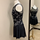 Thumbnail: Adult XS, S, M, L & XL- Black and Silver Skating Dress