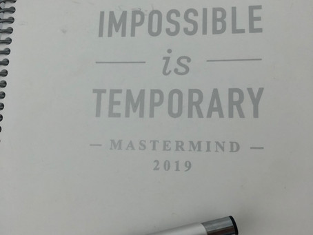 Impossible is Temporary.
