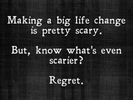 Regret-proofing Your Life