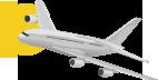 avion aeroport lyon taxi hop