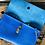 Thumbnail: Dagger Clutch in Brilliant Blue