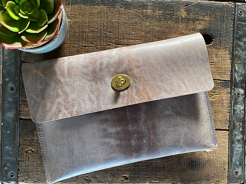 Natural Horween Clutch