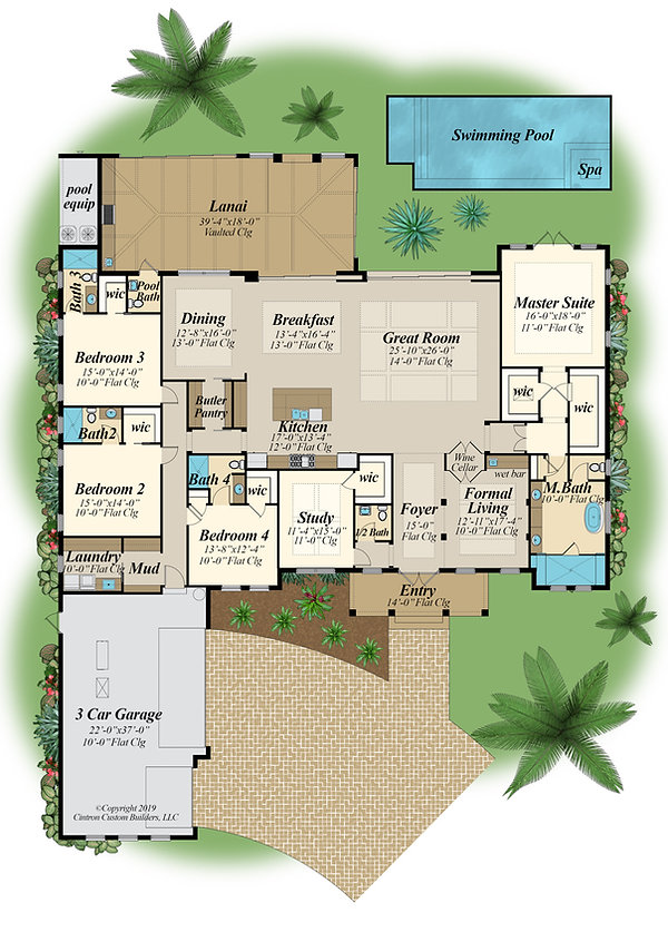 COLOR_FLOORPLAN_CITRONJDA 1 STANDING OAK