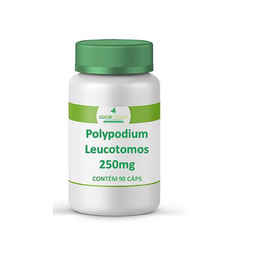 Polypodium Leucotomos 250mg - Fotoproteção. Cáp C/90