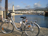 bike tours on electric bikes in rethymno