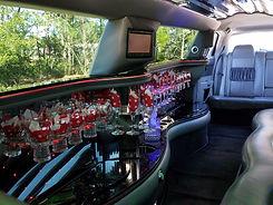 SB Limousine Chrysler 300 Stretch Interior
