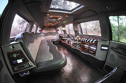 SB LimousineFord Excurson Stretch Interior