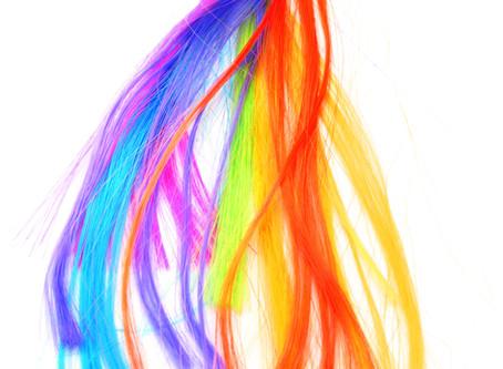 Наращивание искусственных волос