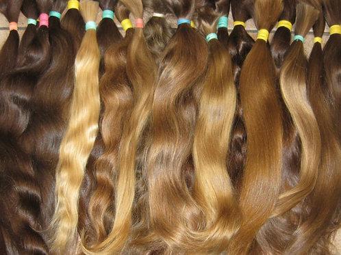 Волосы для наращивания срез 40 см