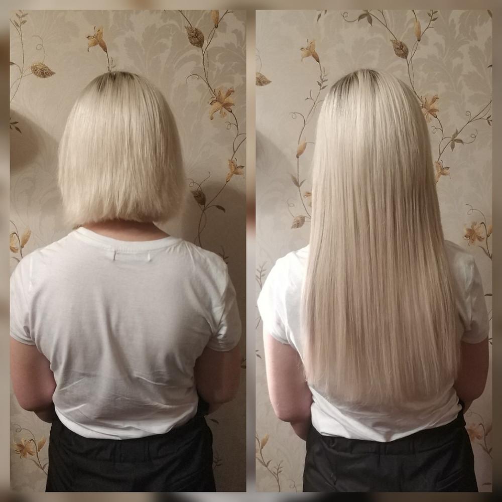 Капсульное кератиновое наращивание волос yoohair.ru