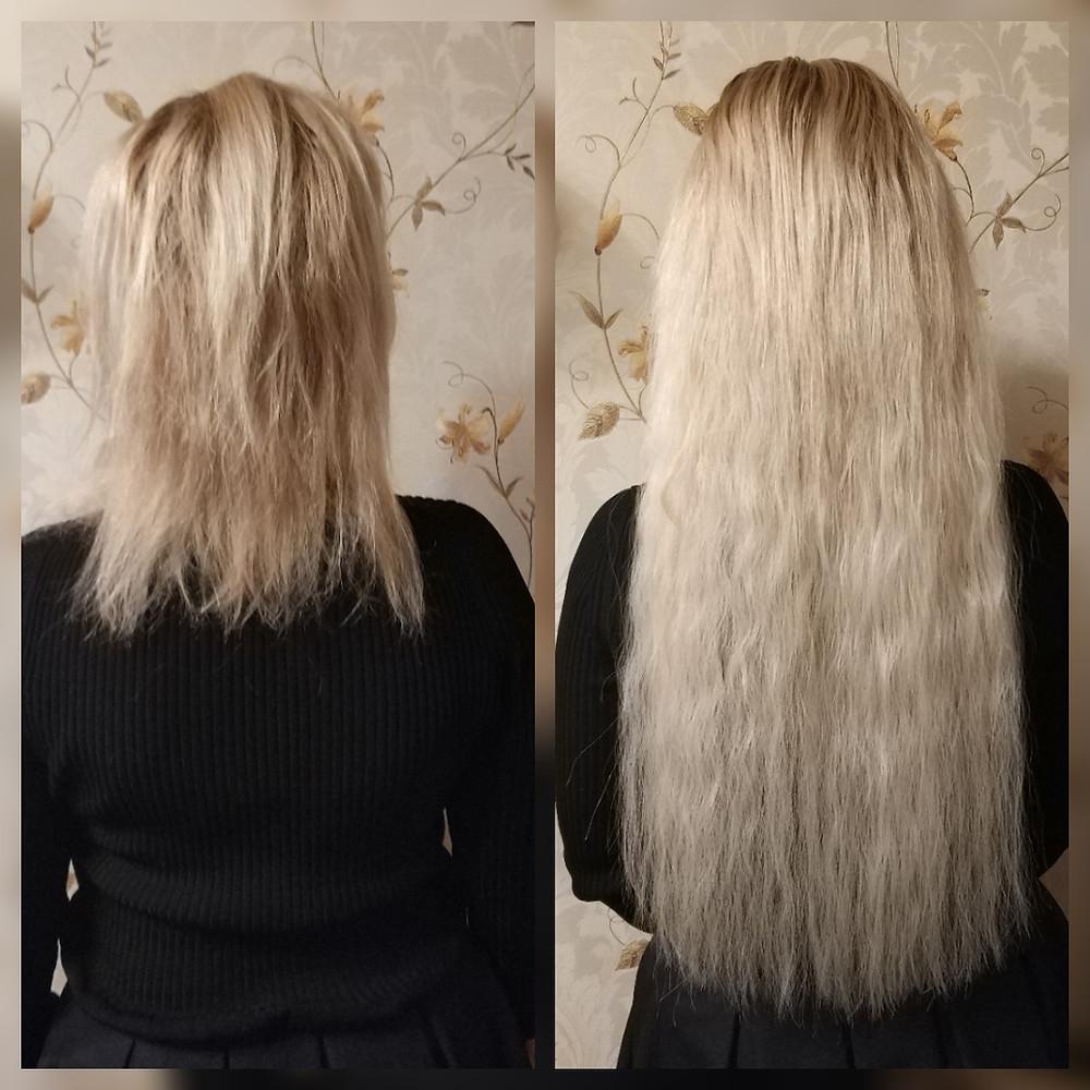 Капсульное наращивание волос yoohair.ru
