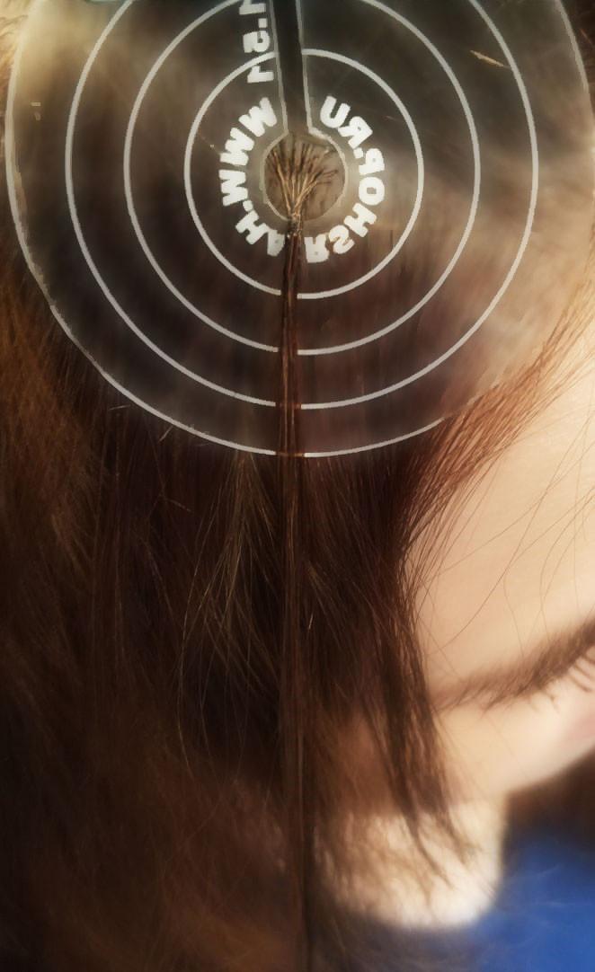 микрокапсульное наращивание волос yoohair