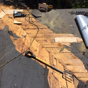 Double tear off and deck repair