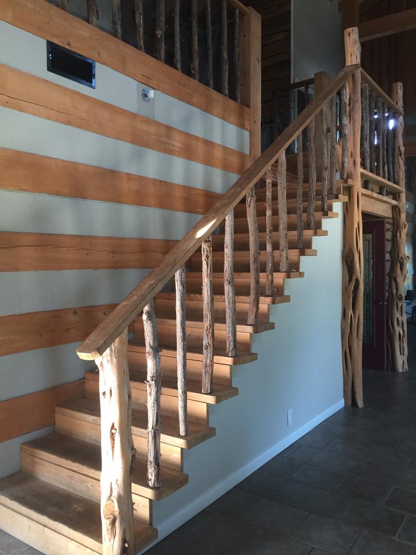 Original staircase.