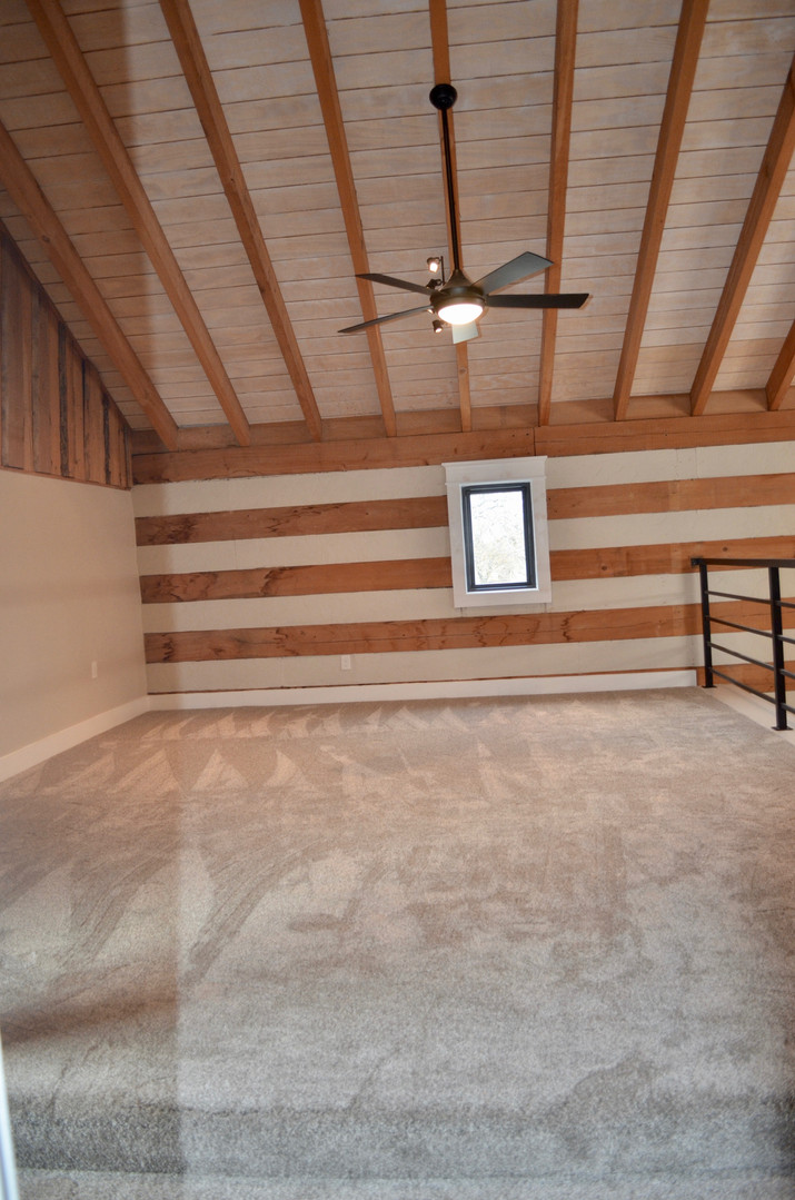 New loft area space.