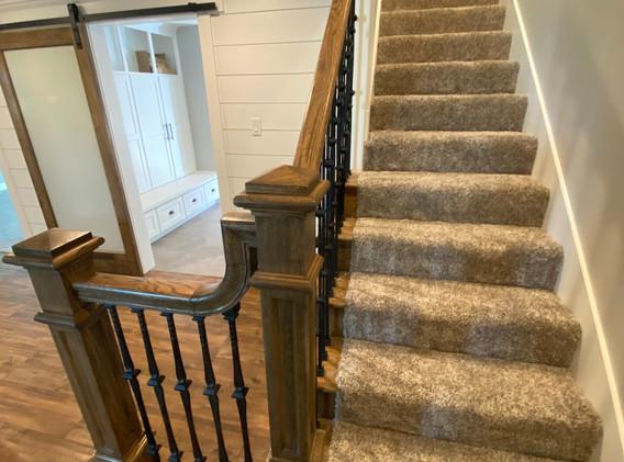 New Staircase Railing- Custom