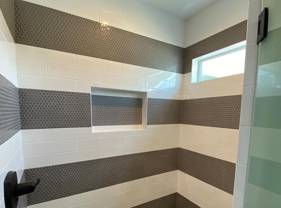 Boy's Bath Striped Shower