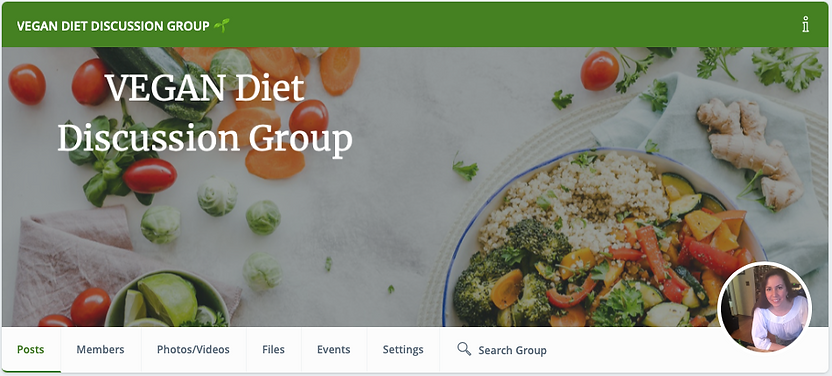 MeWe VEGAN Diet Discussion Group .png