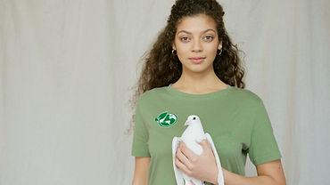 Woman holding a pigeon.jpg
