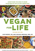 VEGAN for Life book cover by Jack Norris