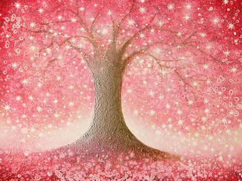 """Beautiful Blossom Tree""  Original Painting"