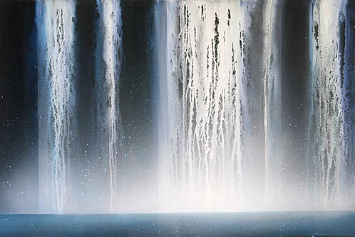 Sound of Waterfall  A3 print