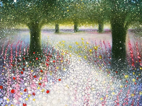Spring (walking into a magic woods)
