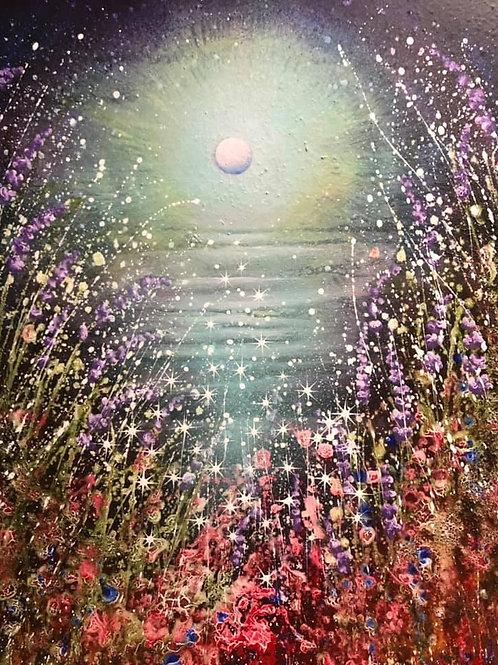 Original painting Children of the Moon